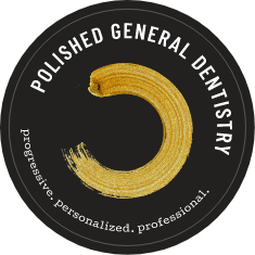 Polished General Dentistry welcome seal